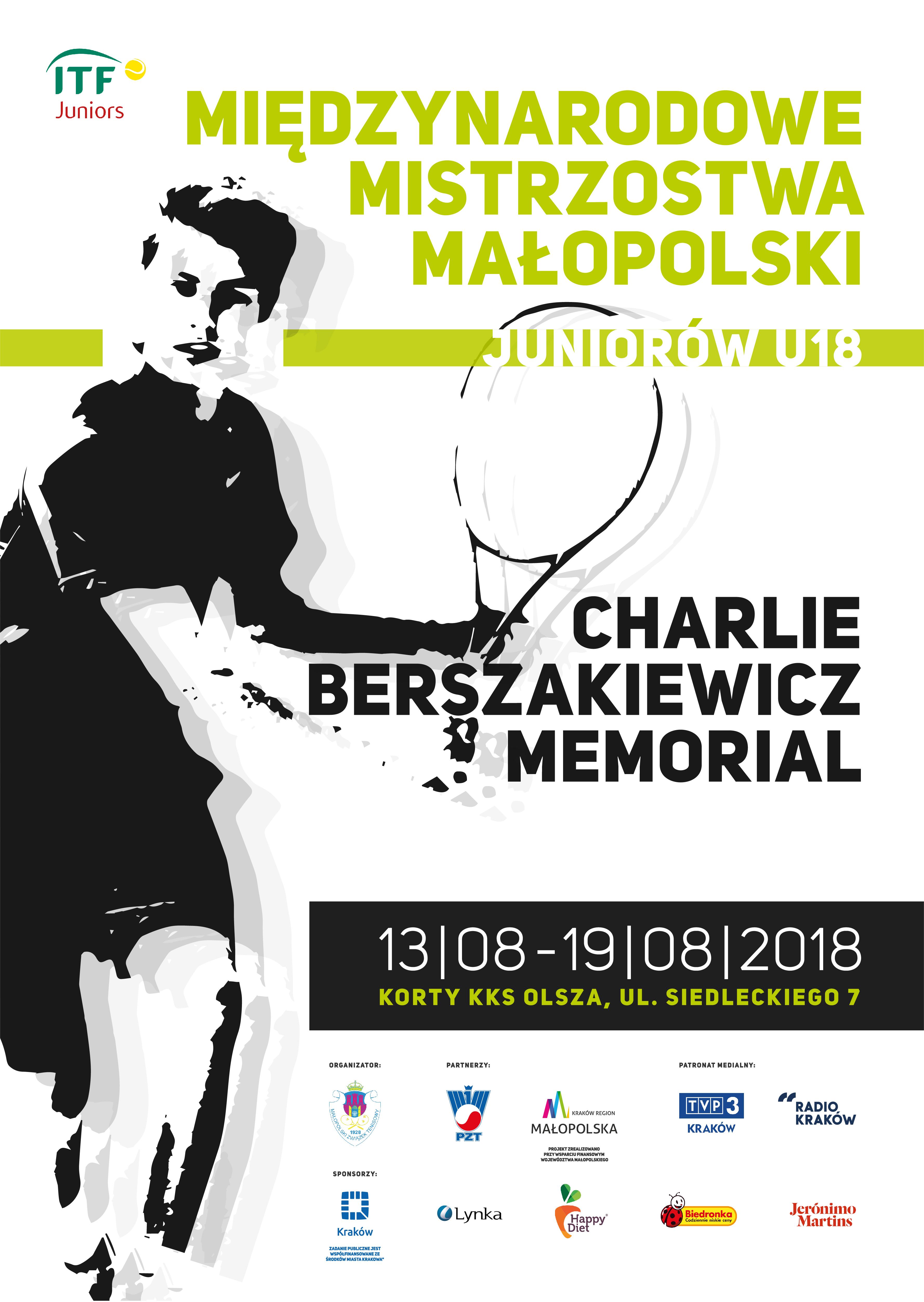 Plakat 2018 ITF Memoriał PL-01
